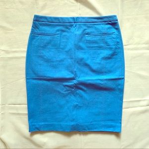 Banana Republic 6P Blue Pencil Skirt